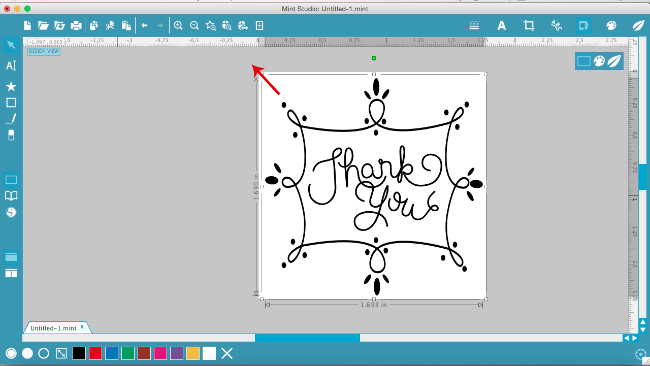 Beginner tutorial Silhouette mint, DIY stamp, self inking stamps