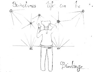 Life is blinding #Conjolted poetry