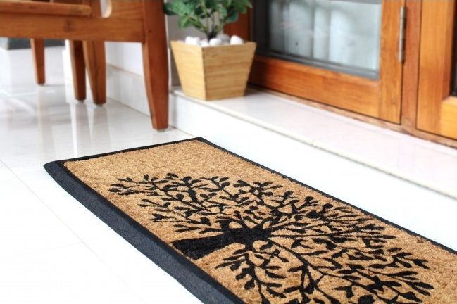 Exclusively made indoor doormats from the fine material - Buy Jute ...