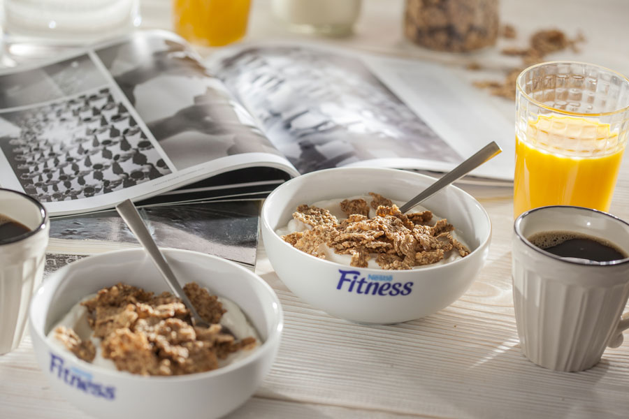 colezione con cereali nestlè fitness