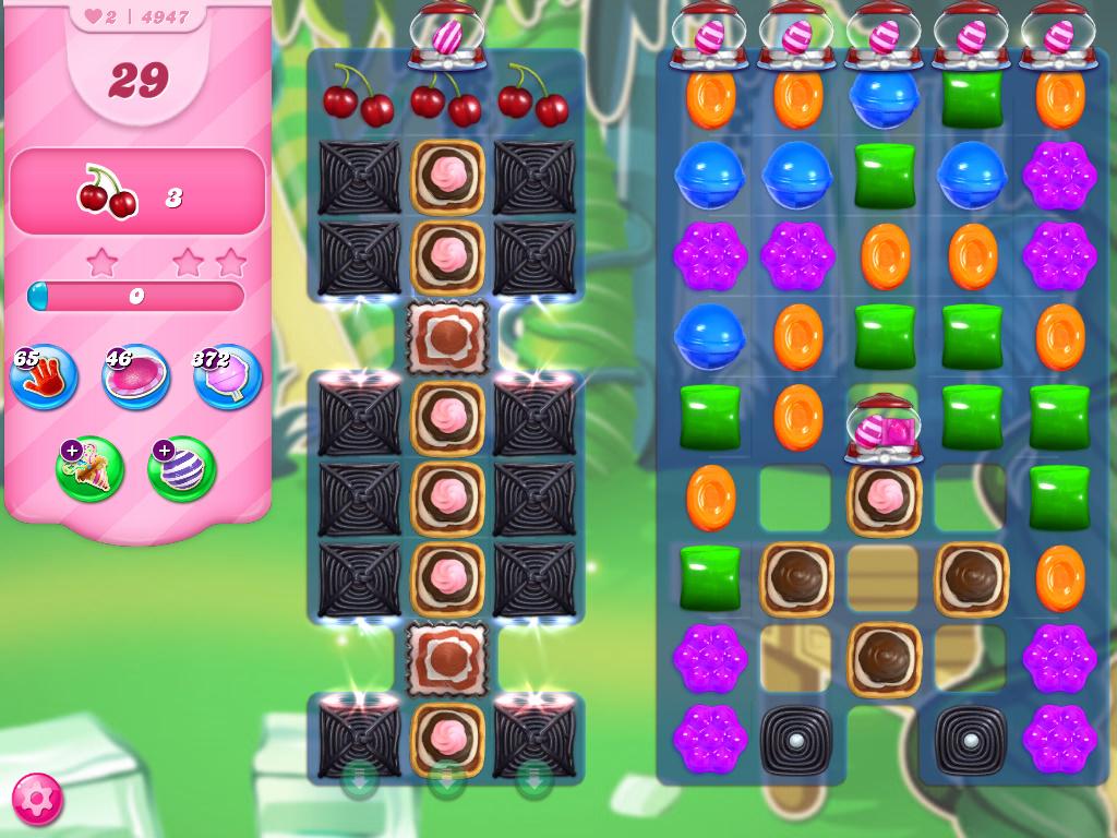 Candy Crush Saga level 4947