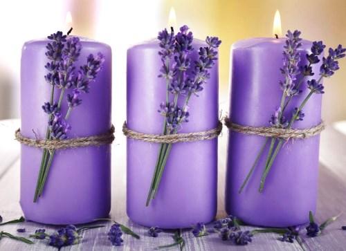 Sediakan lilin pewangi