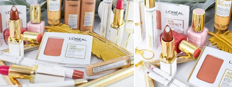 Übersicht und Test der L'Oréal Age Perfect Kosmetik Produkte
