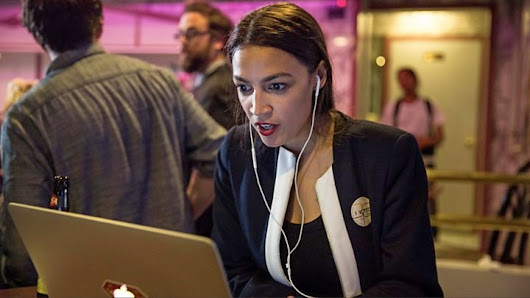 Godyears: Ocasio-Cortez' win is the victory a disillusioned world needed #WriteBravely