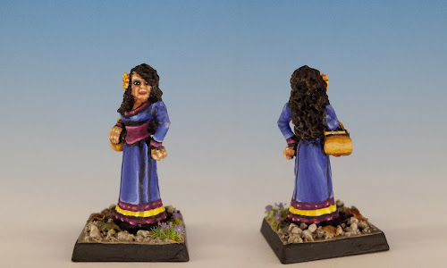 Talisman Gypsy, Citadel Miniatures (1987, sculpted by Aly Morrison)