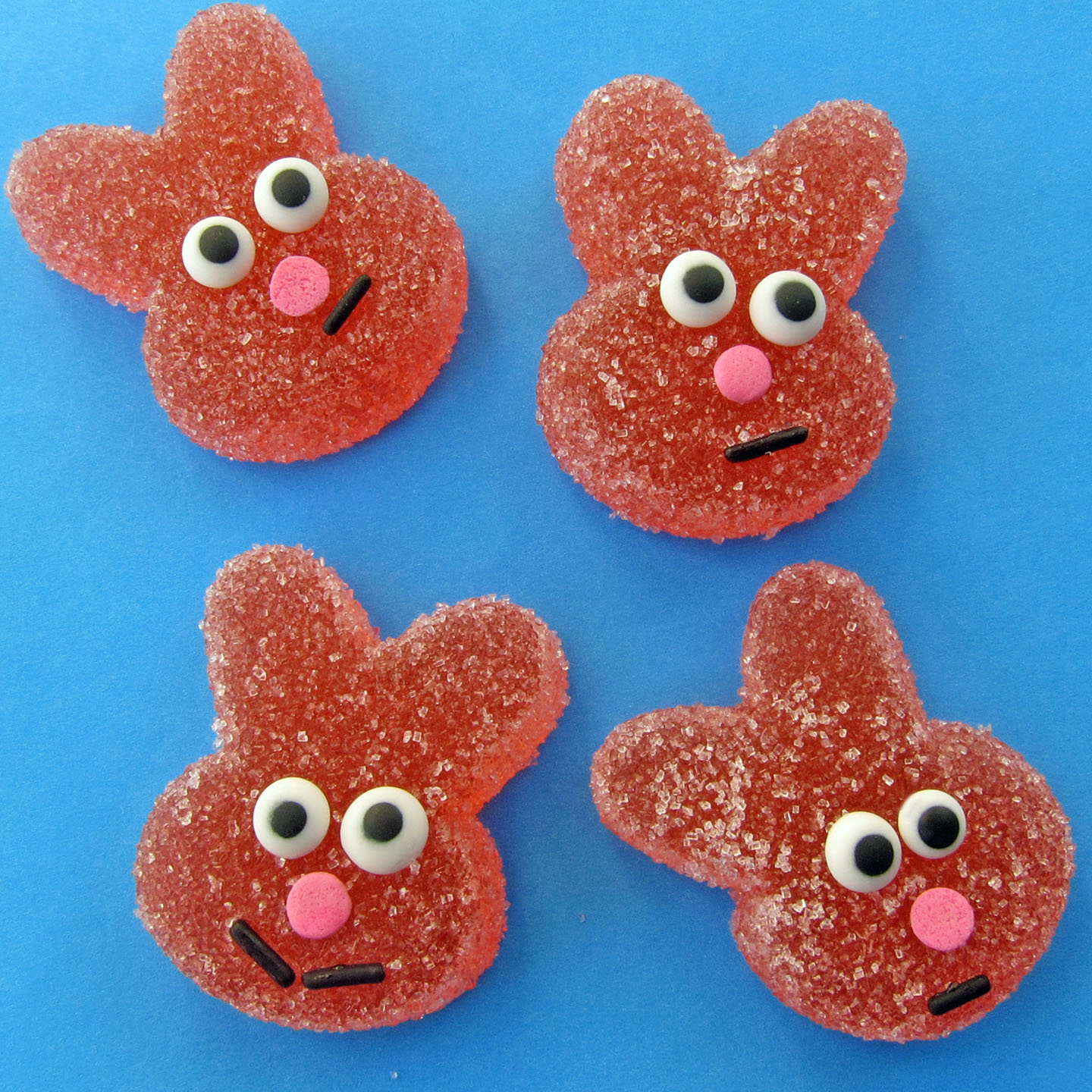Homemade Sour Gummy Bunnies - Hungry Happenings Easter Recipes