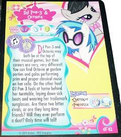My Little Pony DJ Pon-3 & Octavia Series 1 Trading Card