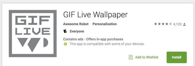Cara Mengatur Gambar GIF Sebagai Wallpaper Background di Android, begini caranya