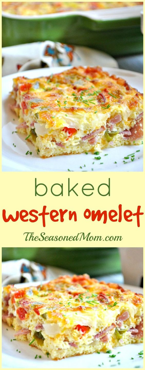 ★★★★☆ 7561 ratings | BAKED WESTERN OMELET #HEALTHYFOOD #EASYRECIPES #DINNER #LAUCH #DELICIOUS #EASY #HOLIDAYS #RECIPE #BAKED #WESTERN #OMELET