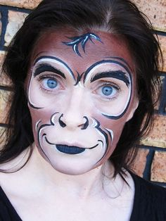 Contoh Make Up Karakter Aneka Binatang Gebeet Com