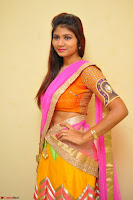 Lucky Sree in dasling Pink Saree and Orange Choli DSC 0350 1600x1063.JPG