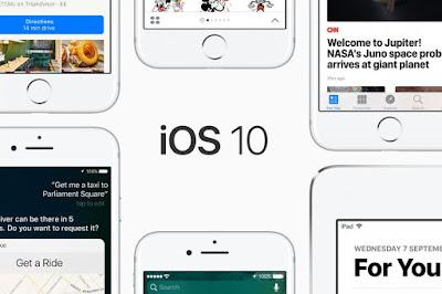 Apple rilis update iOS 10.3.1 untuk perbaiki bug dan security