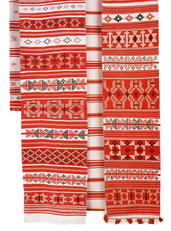 Ritual towels rushniki from Belarus