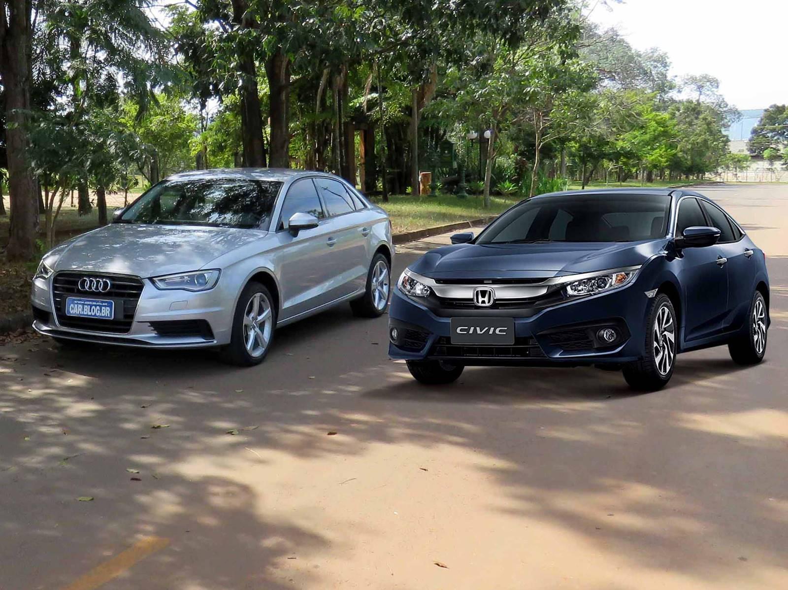Novo Civic 2017 Turbo: preço para competir com A3 Sedan | CAR.BLOG.BR ...