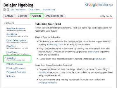 Cara Share Artikel Blog Ke Twitter Secara Otomatis