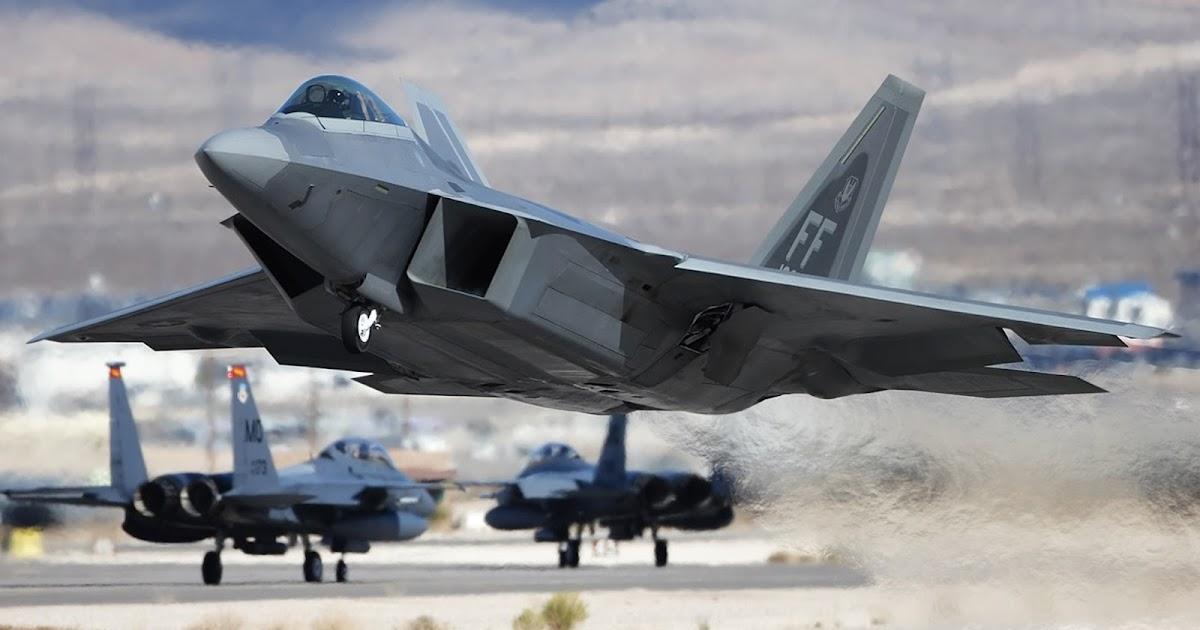 F22 Raptor Of Lockheed Martin Takeoff Aircraft Wallpaper