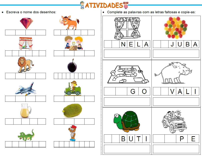 Atividades Para Educadores Ortografia Palavras Com As Sílabas Ja