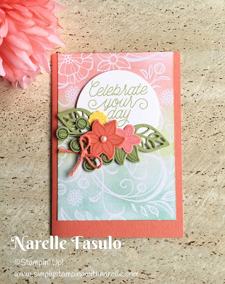 Falling Flowers - Simply Stamping with Narelle