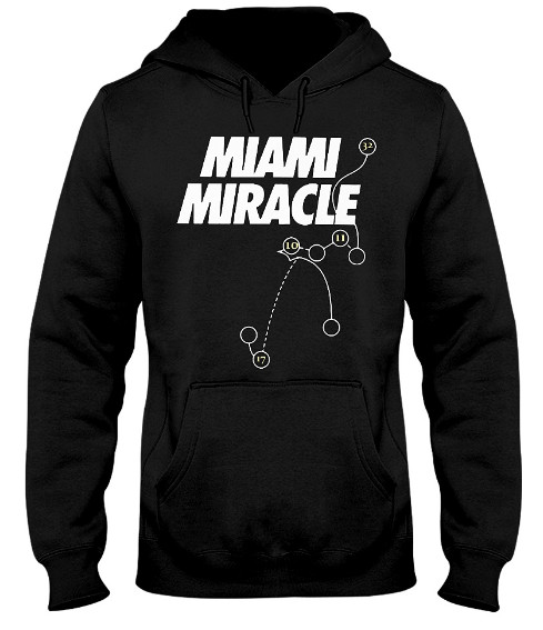 Miami Miracle Hoodie, Miami Miracle Sweater, Miami Miracle Sweatshirt, Miami Miracle for Dolphins, Miami Miracle Shirts