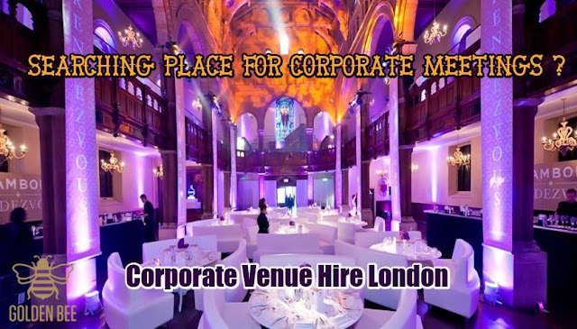 Corporate Venue Hire London