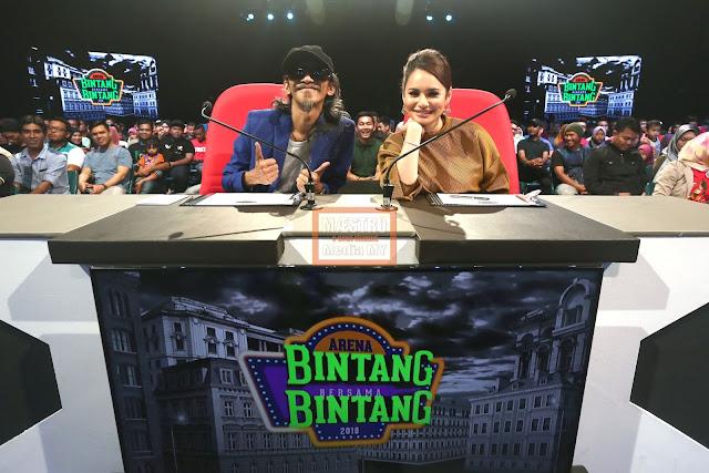 BINTANG BERSAMA BINTANG 2018 MINGGU KE-4 - MAESTRO MEDIA MY