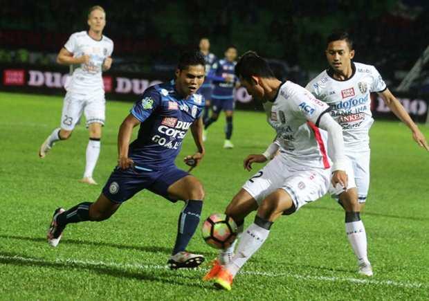Bali United vs Arema FC