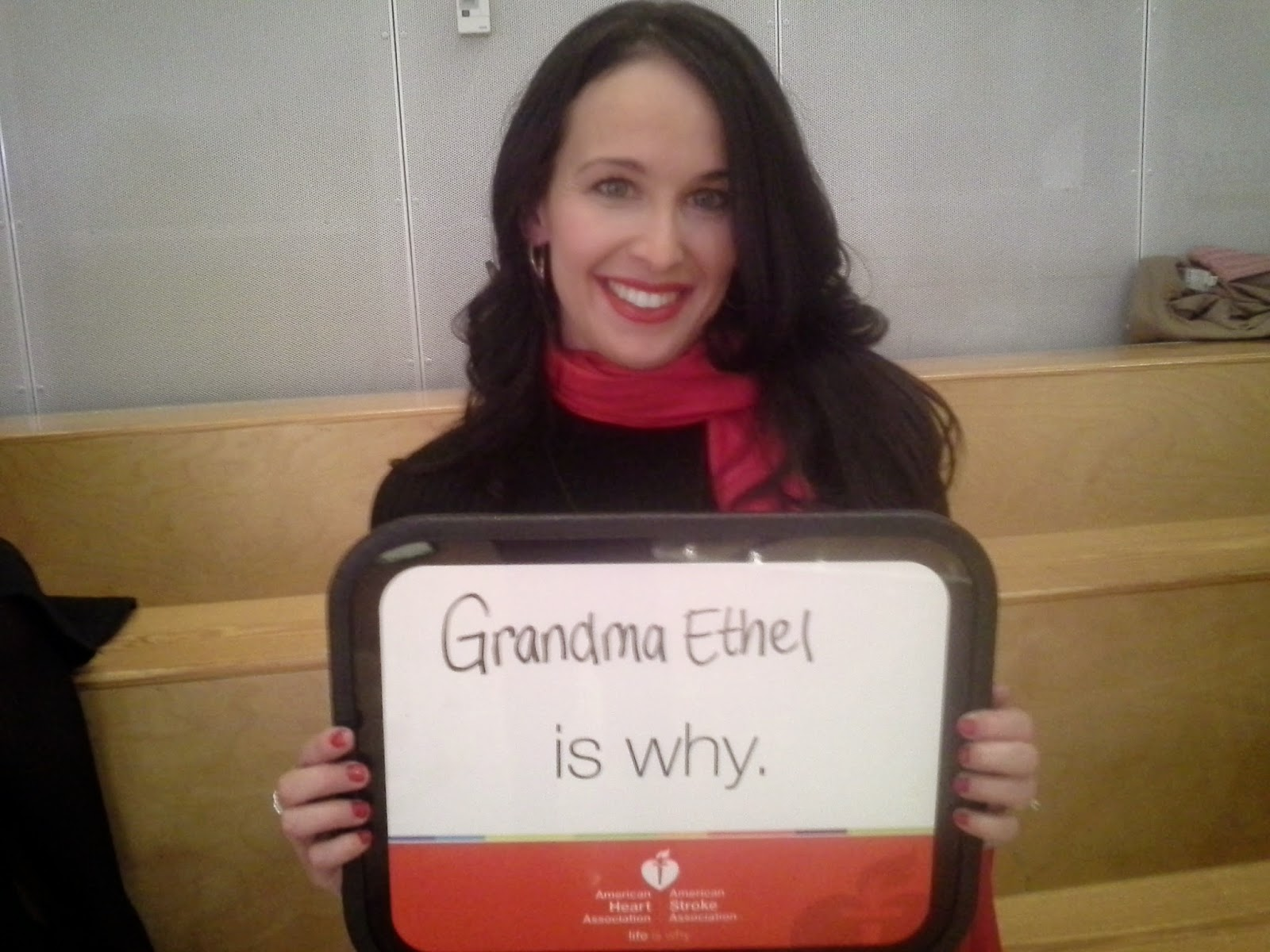 American Heart Association Go Red for Women: Grandma Ethel Is Why