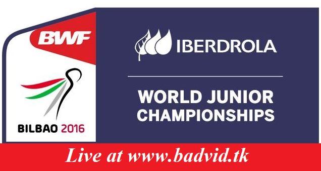 BWF World Junior Mixed Team Championships Suhandinata Cup 2016 live streaming ~ BadVidLiv
