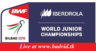 BWF World Junior Mixed Team Championships Suhandinata Cup live streaming