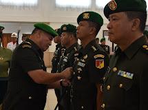 Pangdam  XIII  Merdeka Pimpin Sertijab  Para Pejabat Utama Kodam.