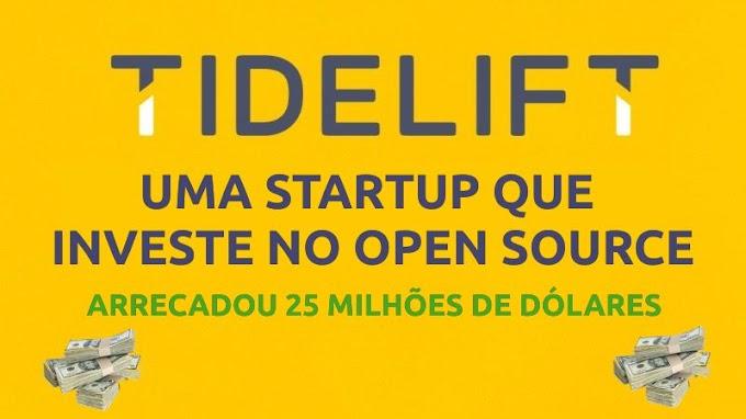 Startup Tidelift arrecada 25 milhões de dólares para financiamento Open Source