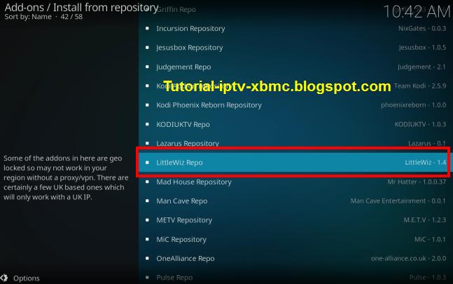 Guide Install Littlewiz Repository On Kodi - New Kodi Addons