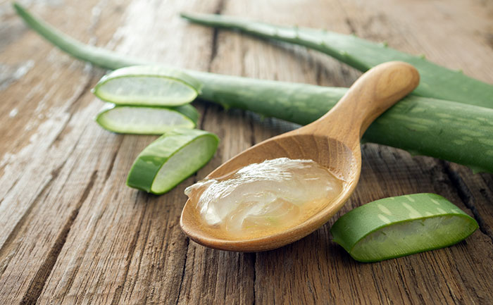 Cllick here to buy Up & Up Clear Aloe Vera Gel to keep hair moisturized
