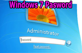 windows 7 password