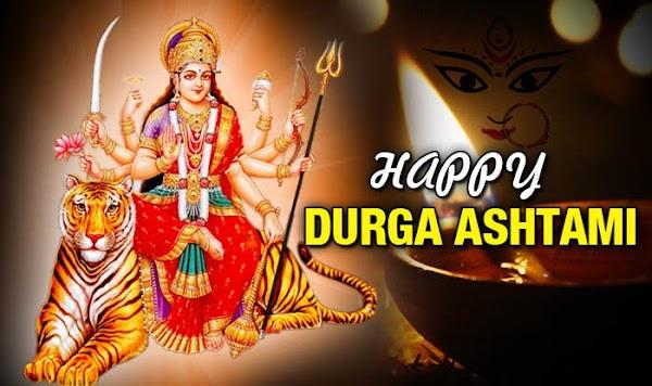 Happy Durga Ashtami Status and Quotes In Hindi