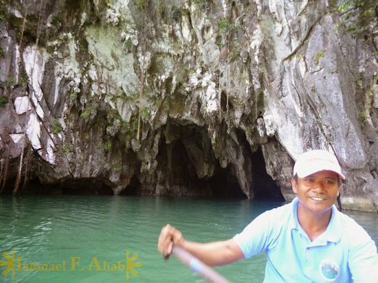 Our boatman for the Puerto Princesa Underground River tour