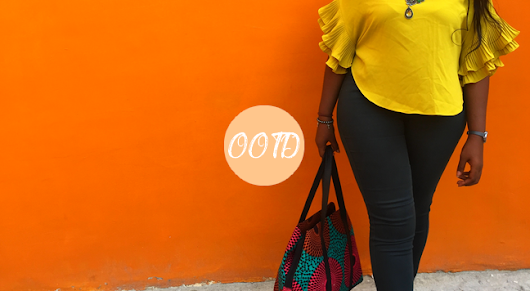 Dee-Vine Anonyme : OOTD | Color Block