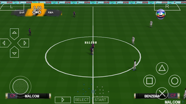 """SAIU!! PES 2019 LITE """"400MB"""" PPSSPP FACES REALISTAS PARA ANDROID"""