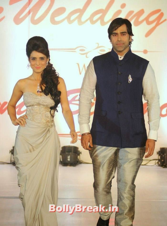 Simple Kaul, Sandeep Sachdev, Amy Billimoria Fashion Show - The Big Fat Fashionable Wedding