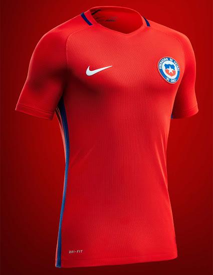 Chile 2016 Copa America Kit