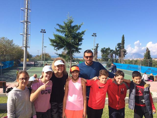 Διακρίσεις για τα παιδιά του ΡΗΓΑ Αθλητικού Ομίλου Αντισφαίρισης Αργολίδας και του ATHLISIS TENNIS CLUB