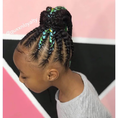 33 Fulani Tribal Braids Ponytail Hairstyles for Black Hair In Style 2019