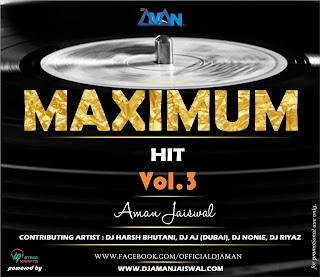 Download-MAXIMUM-Hit-3-DJ-Aman-Jaiswal-front-Cover