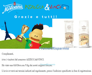 Logo Gioca e vince 5 kg Pasta La Molisana