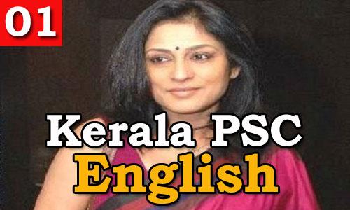 Kerala PSC - Model Question English
