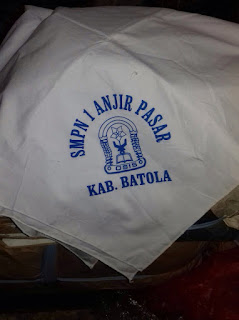 cari jasa pembuatan jilbab seragam sekolah di banjarmasin banjarbaru