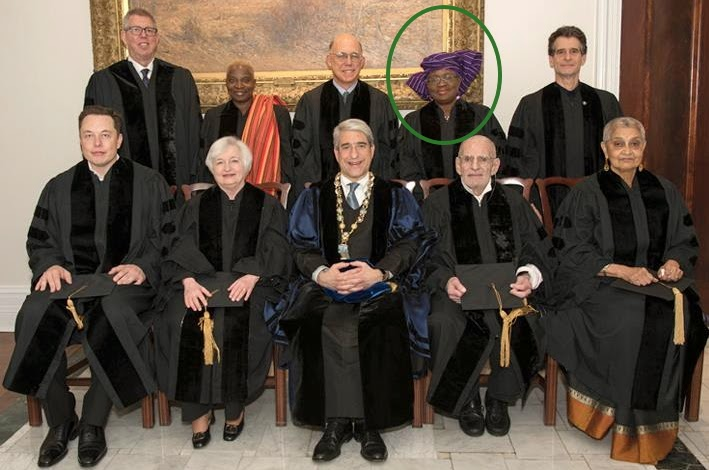 ngozi okonjo iweala honourary degree yale