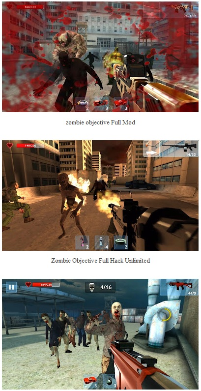 Zombie Objective Mod Apk For Android