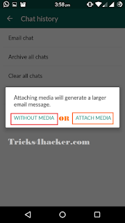 Save Whatsapp Chat in TEXT File and Take Printout Proof