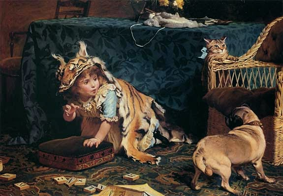 Monstro - Charles Burton Barber ~ Um dos pintores mais incríveis da Inglaterra